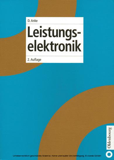 Leistungselektronik - Blick ins Buch