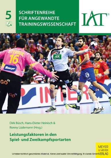 Leistungsfaktoren in den Spiel- und Zweikampfsportarten - Blick ins Buch