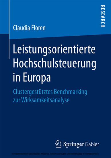 Leistungsorientierte Hochschulsteuerung in Europa - Blick ins Buch
