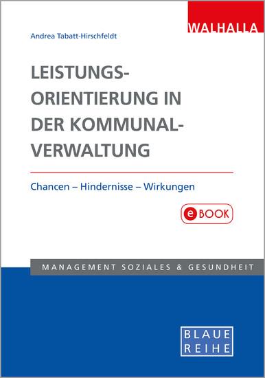 Leistungsorientierung in der Kommunalverwaltung - Blick ins Buch