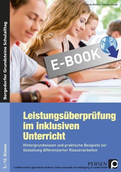 Leistungsüberprüfung im inklusiven Unterricht - Blick ins Buch