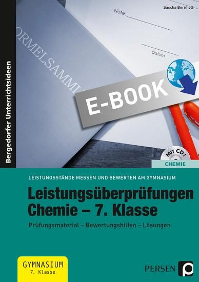 Leistungsüberprüfungen Chemie - 7. Klasse - Blick ins Buch