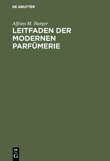 Leitfaden der modernen Parfümerie - Blick ins Buch