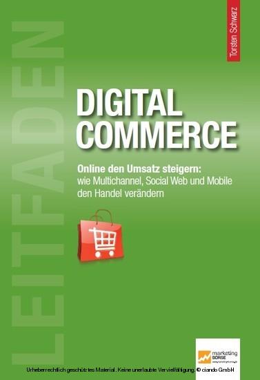 Leitfaden Digital Commerce - Blick ins Buch