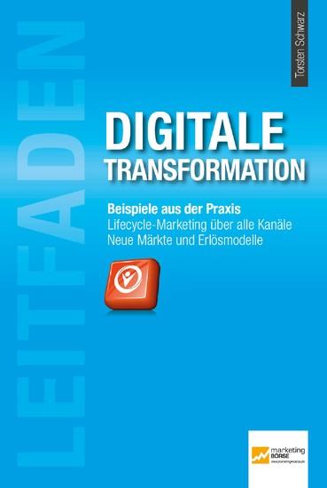 Leitfaden Digitale Transformation - Blick ins Buch
