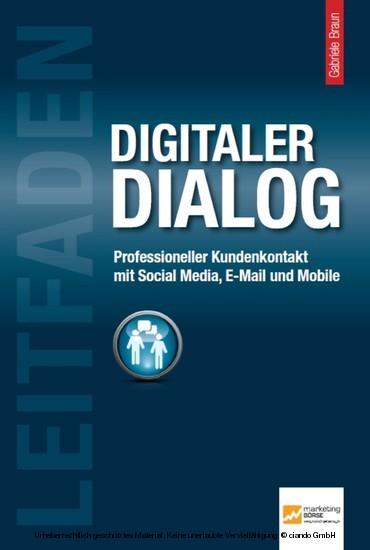 Leitfaden Digitaler Dialog - Blick ins Buch