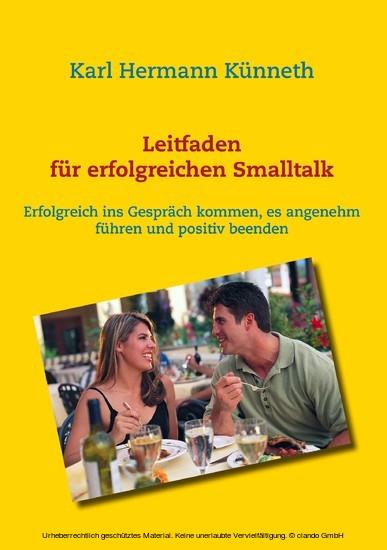 Leitfaden für erfolgreichen Smalltalk - Blick ins Buch