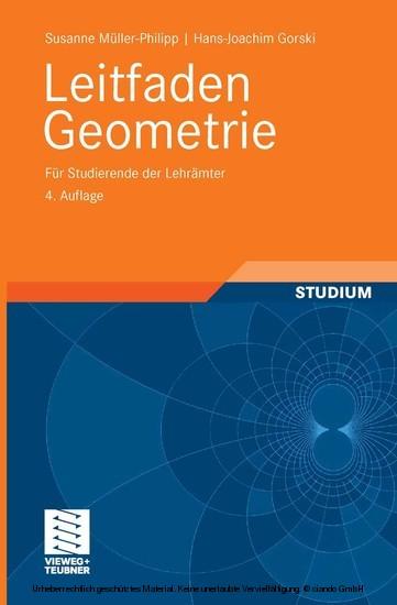 Leitfaden Geometrie - Blick ins Buch