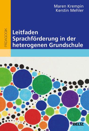 Leitfaden Sprachförderung in der heterogenen Grundschule - Blick ins Buch