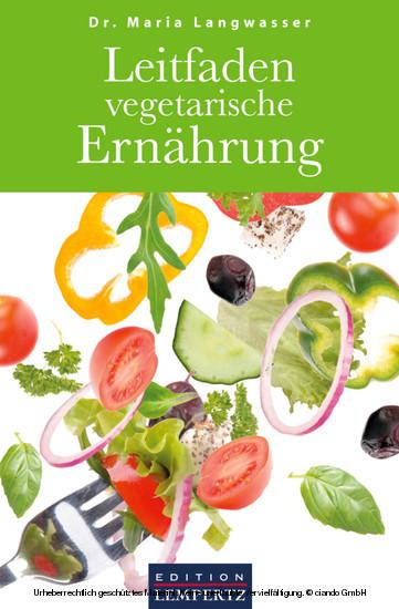 Leitfaden vegetarische Ernährung - Blick ins Buch