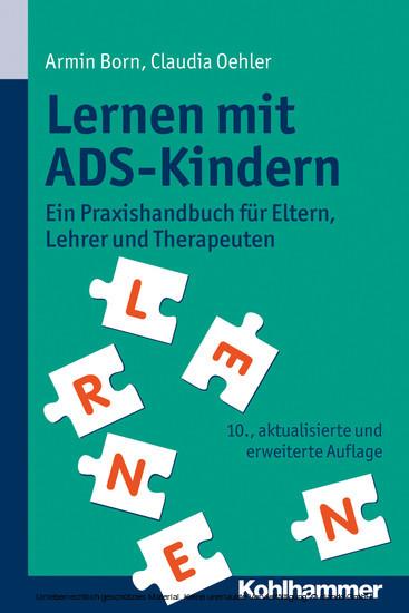 Lernen mit ADS-Kindern - Blick ins Buch