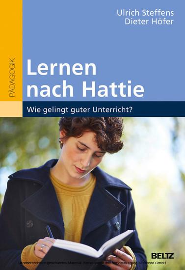 Lernen nach Hattie - Blick ins Buch