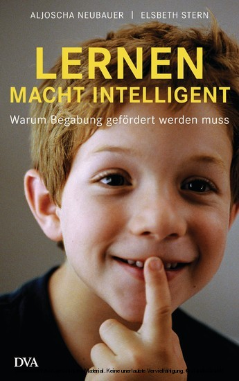 Lernen macht intelligent - Blick ins Buch