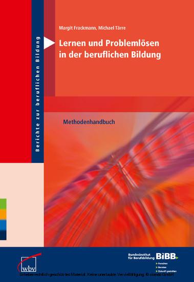 Lernen und Problemlösen in der beruflichen Bildung - Blick ins Buch