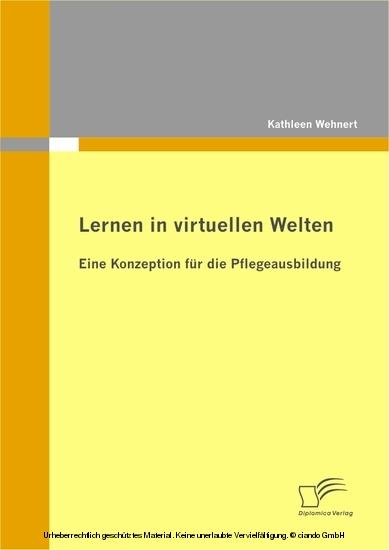 Lernen in virtuellen Welten - Blick ins Buch