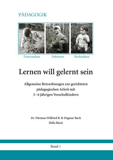 Lernen will gelernt sein - Band 1 - Blick ins Buch
