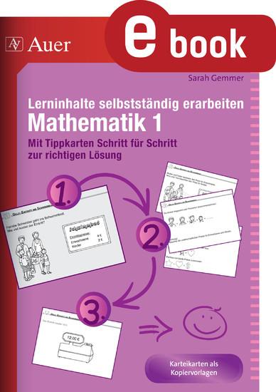Lerninhalte selbstständig erarbeiten Mathematik 1 - Blick ins Buch