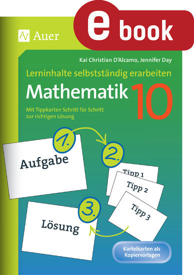 Lerninhalte selbstständig erarbeiten Mathematik 10 - Blick ins Buch