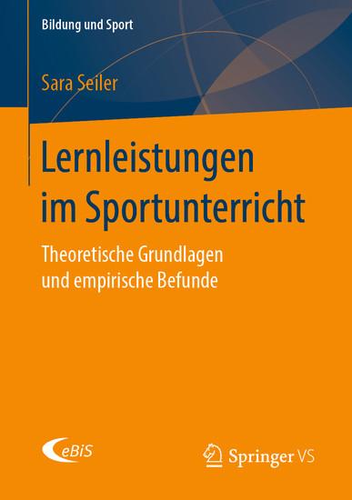 Lernleistungen im Sportunterricht - Blick ins Buch