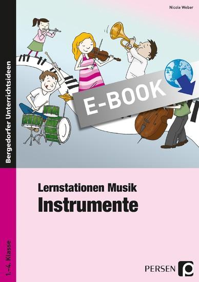 Lernstationen Musik: Instrumente - Blick ins Buch