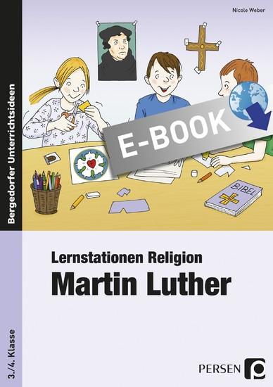 Lernstationen Religion: Martin Luther - Blick ins Buch