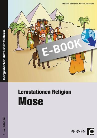 Lernstationen Religion: Mose - Blick ins Buch