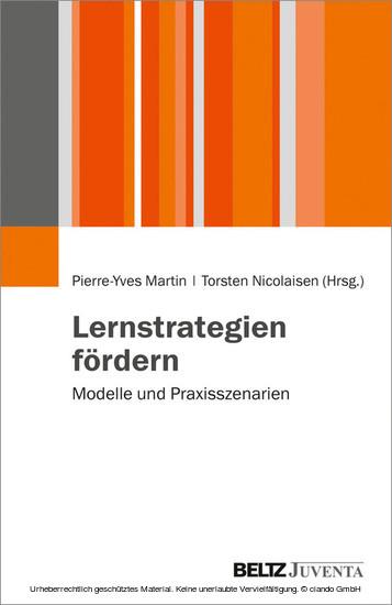 Lernstrategien fördern - Blick ins Buch