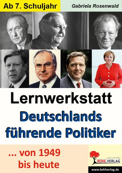 Lernwerkstatt Deutschlands führende Politiker - Blick ins Buch