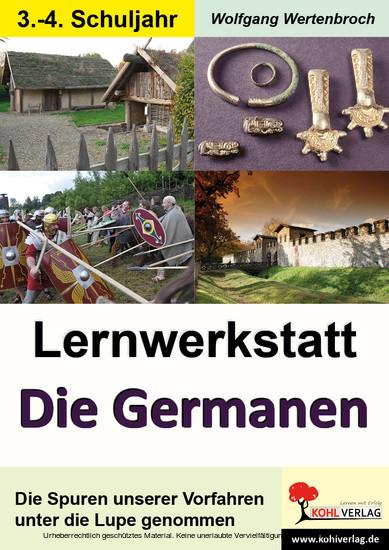 Lernwerkstatt Die Germanen / Grundschule - Blick ins Buch