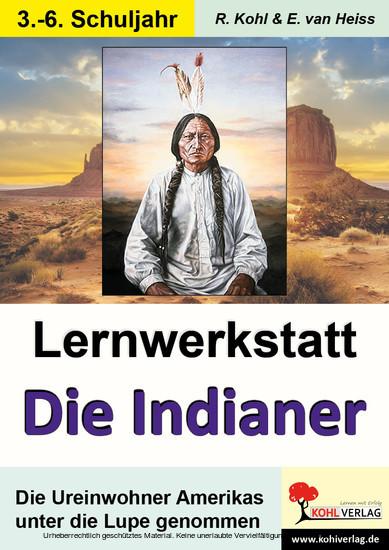 Lernwerkstatt Die Indianer - Blick ins Buch