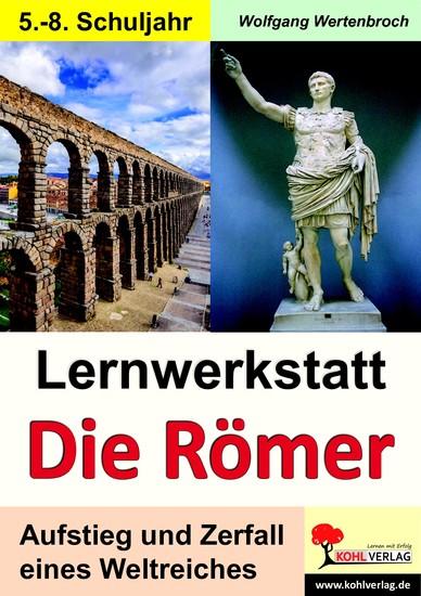 Lernwerkstatt Die Römer - Blick ins Buch