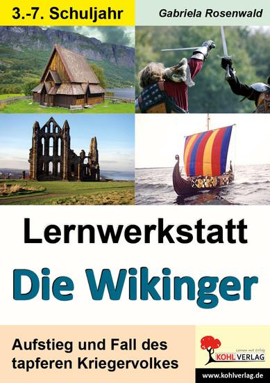 Lernwerkstatt Die Wikinger - Blick ins Buch