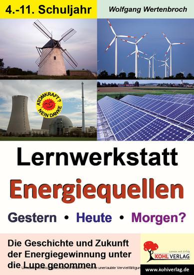 Lernwerkstatt Energiequellen - Blick ins Buch