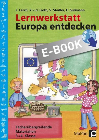 Lernwerkstatt: Europa entdecken - Blick ins Buch