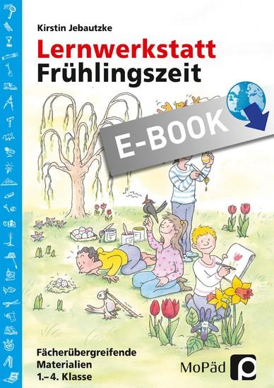 Lernwerkstatt: Frühlingszeit - Blick ins Buch