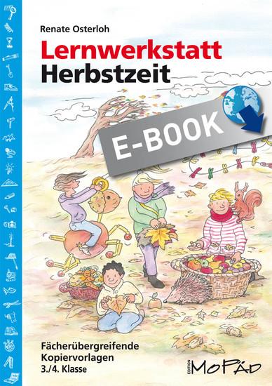 Lernwerkstatt: Herbstzeit 3./4. Klasse - Blick ins Buch