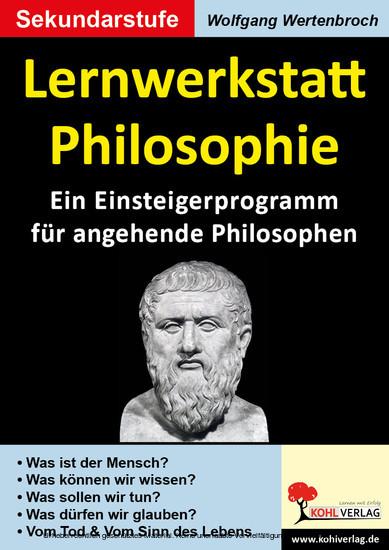 Lernwerkstatt Philosophie - Blick ins Buch
