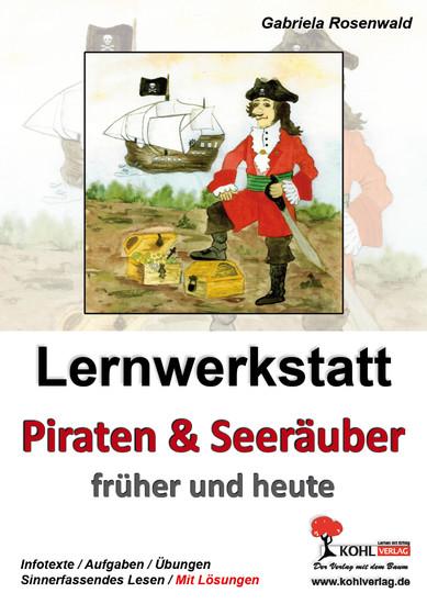 Lernwerkstatt Piraten & Seeräuber früher und heute - Blick ins Buch
