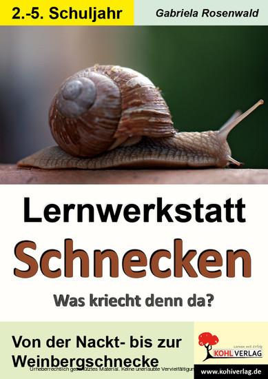 Lernwerkstatt Schnecken - Blick ins Buch