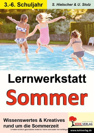 Lernwerkstatt SOMMER - Blick ins Buch