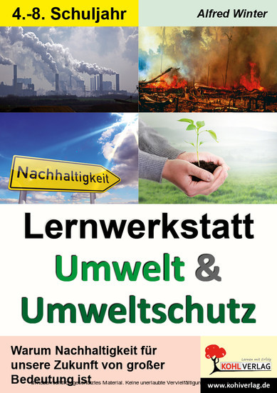 Lernwerkstatt Umwelt & Umweltschutz - Blick ins Buch