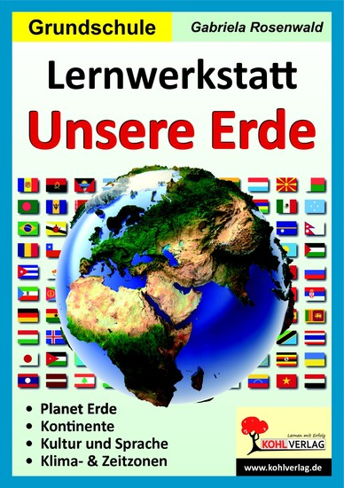 Lernwerkstatt Unsere Erde - Blick ins Buch