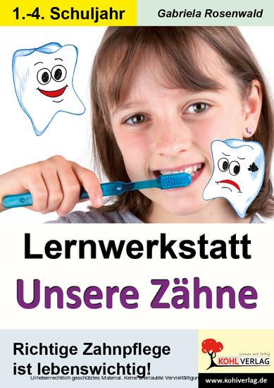 Lernwerkstatt Unsere Zähne - Blick ins Buch