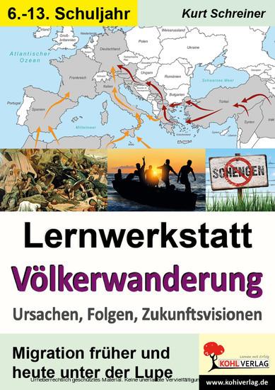 Lernwerkstatt Völkerwanderung - Blick ins Buch