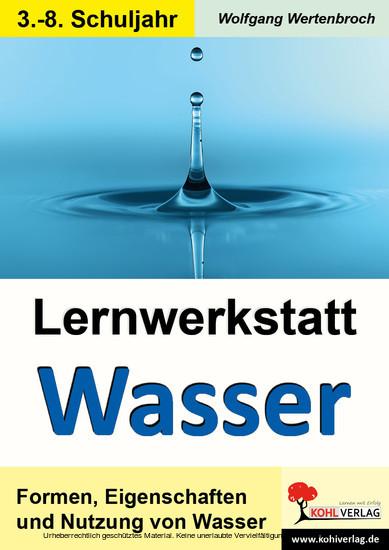 Lernwerkstatt Wasser - Blick ins Buch