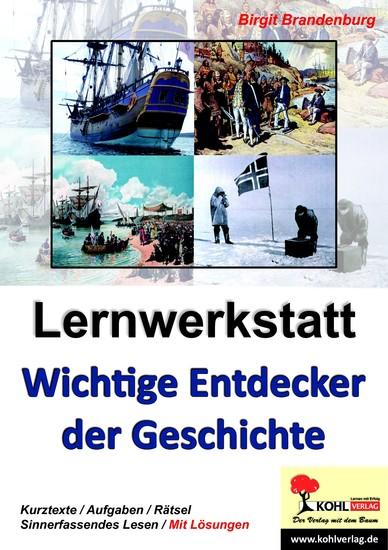 Lernwerkstatt Wichtige Entdecker der Geschichte - Blick ins Buch