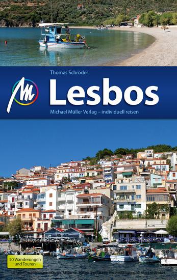 Lesbos Reiseführer Michael Müller Verlag - Blick ins Buch