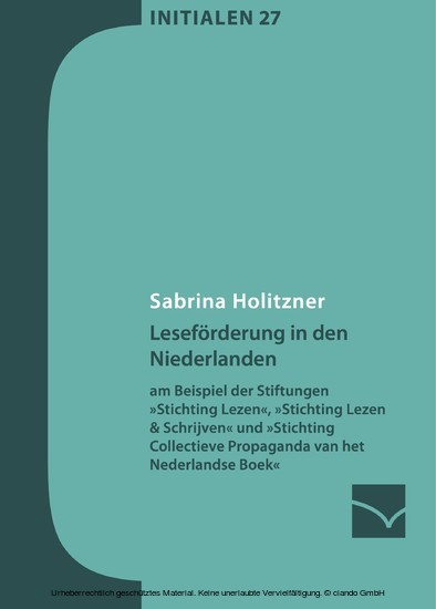 Leseförderung in den Niederlanden - Blick ins Buch