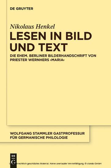 Lesen in Bild und Text - Blick ins Buch