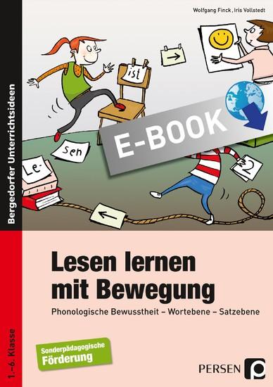Lesen lernen mit Bewegung - Blick ins Buch